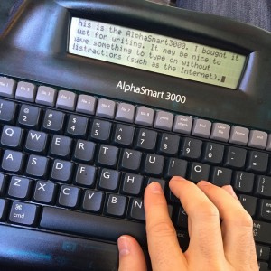 portable word processor for writers